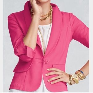 Cabi 310 Power Hot Pink Blazer Size 2